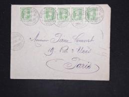 SUISSE - Enveloppe Pour La France En 1908 - A Voir - Lot P12539 - 1882-1906 Armarios, Helvetia De Pie & UPU