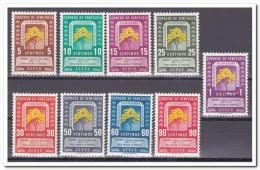 Venezuela 1950, Plakker MLH, Flowers - Venezuela