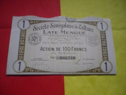 Senegalaise De Culture LATE MENGUE (kaolack,senegal) - Unclassified