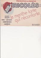 BUVARD -PUBLICITE RICQLES - Liqueur & Bière