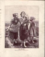 Das Orakel - Druck, Entnommen Aus Velhagen Und Klasings- Monatsheften/ 1909 - Zeitungen & Zeitschriften