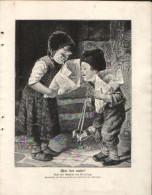 Wer Hat Mehr - Druck, Entnommen Aus Velhagen Und Klasings- Monatsheften/ 1909 - Zeitungen & Zeitschriften