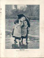 Aprilregen - Druck, Entnommen Aus Velhagen Und Klasings- Monatsheften/ 1909 - Zeitungen & Zeitschriften