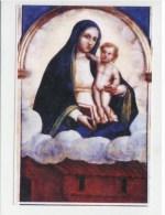 HOLY CARD, SANTINO  - VERGINE MARIA DI LORETO - IMAGE PIEUSSE - Santini