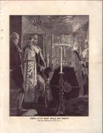 Schiffer An Der Gruft Herzog Karl Eugens - Druck, Entnommen Aus Velhagen Und Klasings- Monatsheften/ 1909 - Zeitungen & Zeitschriften