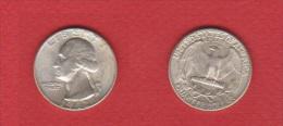 USA //   1/4 Dollars  1942  //  SUP  //  RARE En L'état - Emissioni Federali