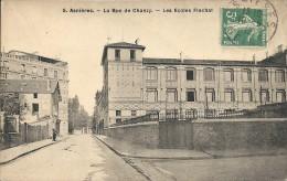 LES ECOLES FLACHAT. RUE DE CHANZY - Asnieres Sur Seine