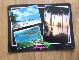 49314 POSTCARD:  WEST INDIES: ANTIGUA: Paradise Found! - Other