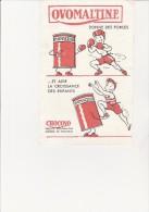 BUVARD -PUBLICITE -  OVOMALTINE -CHOCOVO - Kakao & Schokolade