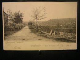 K-n°1 /  [71] Saône Et Loire - Autres Communes, Bourgneuf  -  Route De Couches    / Ciculé En 1904 .- - France