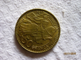 Monaco 50 Francs 1950 - Monaco
