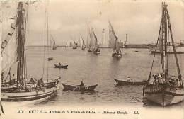 V-15 - 050 : CETTE SETE BATEAUX DE PECHE BATEAUX BOEUFS - Sete (Cette)