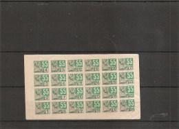 Guerre 40/45-Ravitaillement ( Petit Feuillet De Timbres De Ravitaillement à Voir) - WW2