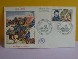 FDC- Le Siège De Belfort 1870/1871 - 90 Belfort - 14.11.1970 - 1er Jour,Cote 2,70 € - 1970-1979