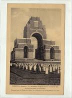 THIEPVAL - LE MONUMENT ANGLAIS - MEMOIRE DES ARMEES ANGLAISES ET FRANCAISES - CPA - France