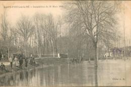 Saint Fort Sur Le Né Inondation Du 31 Mars 1913 - Other Municipalities