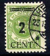 MEMEL (Lithuanian Occupation) 1923 (May) 2 C. On 50 Mk. Used.  Michel 185 - Klaipeda