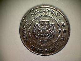 Singapore 50 Cents 1987 - Singapur