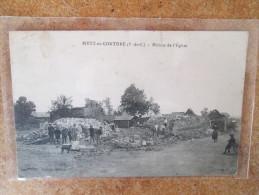 METZ EN COUTURE RUINES DE L EGLISE - Frankreich