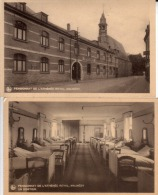 1036- 2 Cartes,MALMEDY Pensionat De L'Athénée Royal Et Dortoir - Malmedy