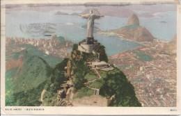 BR.- Rio De Janeiro - Christo Redentor. Brasil. Corcovado. 1962. 2 Scans - Rio De Janeiro