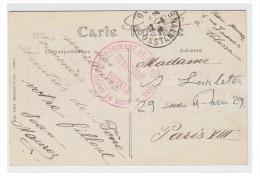 FRANCE -- GUERRE DE 14/18 -- CARTE EN FRANCHISE -- *3° REGIMENT DE TIRAILLEURS * DEPOT DE BONE*- - Marcophilie (Lettres)