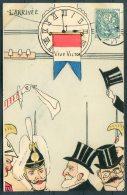 Carte Satirique 'Vive Victor' Preseident Republique France Postcard - Satirical