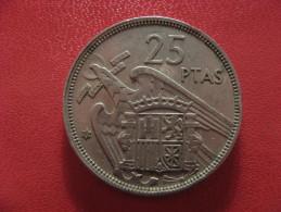 Espagne - 25 Pesetas 1957 (58) Franco 1396 - 25 Pesetas