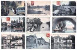Lot De 52 Cartes De OLIVET - Bords Du Loiret - Toutes Les Cartes Sont Scannées - - France
