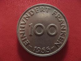 Saarland - 100 Franken 1955 1390 - Sarre