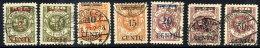 MEMEL (Lithuanian Occupation) 1923 ( 16-20. April) Set Of 7,  Used.  Michel 167-73 - Klaipeda