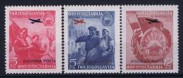 YUGOSLAVIA:  Airmail Mi Nr 575 - 577 MNH/** Postfrisch - Poste Aérienne