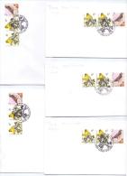 België - Sijsje - FDC's - 5/10/1996 (RM9805) - Passereaux