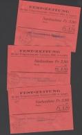 Fest-Zeitung Für Das Eidgenössische Turnfest 1928 In Luzern - Nachnahme - 3 Karten - Vieux Papiers