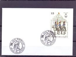 België - 200 Jaar Rijkswacht - Brussel 3/5/1996  (RM9875) - Police - Gendarmerie