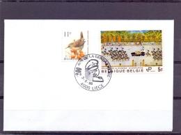 België - 200 Jaar Rijkswacht - Liege 3/5/1996  (RM9878) - Police - Gendarmerie