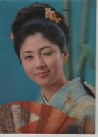 3D Three Dimension Japan Japanese Lady Winky Girl Wink Winking Post Card Postkarte Karte Carte Postale POSTCARD - A Systèmes