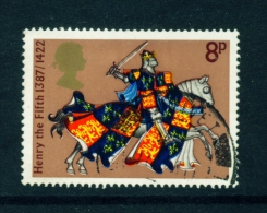 GREAT BRITAIN  -  1974  Medieval Warriors  8p  Used As Scan - Used Stamps