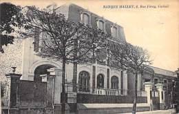 CORBEIL ESSONNES 91 - Beau Plan BANQUE MALLET - 6 Rue Féray ( NSM De Neuflize, Schlumberger, Mallet - Groupe ABN-AMRO ) - Corbeil Essonnes