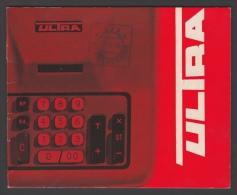 Mode D'emploi - ULTRA Machine à Additionner - Vieux Papiers