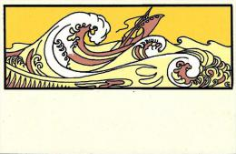 [DC4474] RIPRODUZIONE CARTOLINA - ONDE - Non Viaggiata - Cartoline