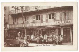 """VICHY (Allier) Rue Lucas - Animée - Magasin Souvenirs, Coutellerie """"FAURE"""" - Vichy"""