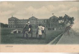 Carte Animée (pousse Pousse) Avec Indication CEYLON Datée 1906.sans éditeur Tb état. - Sri Lanka (Ceylon)