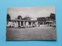 """Café - Restaurant """" La Chaumière """" Manège Marche En Famenne - Anno 19?? ( Zie Foto´s Voor Detail ) ! - Visitenkarten"""