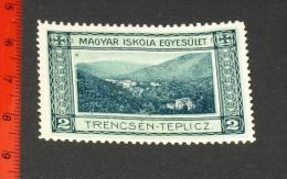 Werbemarke Cinderella Poster Stamp Magyar Iskola Trencsen   #1255 - Advertising