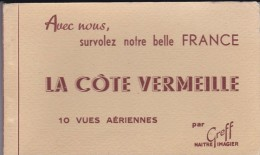 66---LA COTE VERMEILLE---10 Vues Aériennes Par GREFF------voir 2 Scans - France