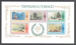 Trinidad & Tobago - 1976 Landscape Painting Block MNH__(THB-1894) - Trinidad Y Tobago (1962-...)