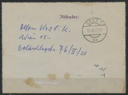 Österreich    Kartonsbrief - Poststempel - Freistempel