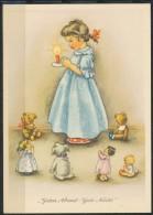 Guten Abend- Gute Nacht  Karte  Ungebraucht - Briefmarken