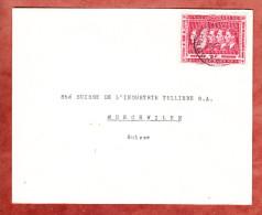 Brief, EF, Nach Muenchwilen (26360) - Belgisch-Kongo